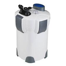 525GPH FREE MEDIA 200 Gallon Aquarium Canister Filter UV 9w Sterilizer Fish Tank