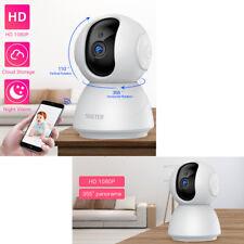 Caméra De Sécurité Surveillance Vision Nocturne Ir Sans Fil Wi-Fi Ip 1080P