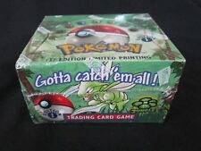 Pokemon Sealed Jungle 1st  Edition Booster Box Sealed Damaged (ME)
