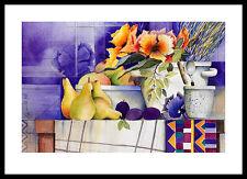 Raquel tomacen ihre de verano póster imagen son impresiones artísticas en el marco de aluminio 50x70cm