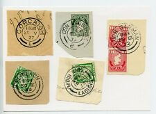 Ireland cover cut outs of c1930 postmarks (W551)