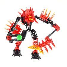 1 x Lego Bionicle Figure Set Model Technic Hero Factory Villains 7147 Xplode Red