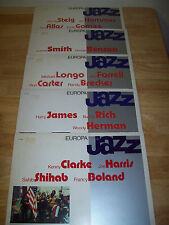 RARE Europa JAZZ Italy IMPORT 5 LPs NEAR MINT Jan Hammer Buddy Rich Woody George