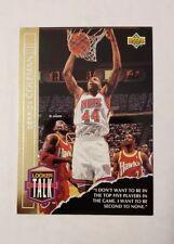 1993-94 Upper Deck Locker Talk #LT7 Derrick Coleman