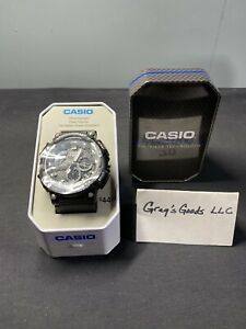 Casio Men's Quartz Chronograph Black Resin Band 53mm Watch MCW200H-1ATN