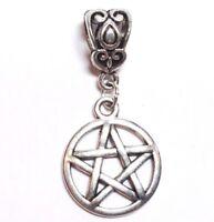 FORTUNE TELLER/_Bronze European Bead/_Fits Charm Bracelet/_Psychic Halloween/_J16