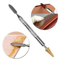 Belt Edge Oil Paint Roller Tools DIY Craft Leather Top Edge Dye Pen Applicator