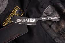 Taktisches Messer - Rasierklinge, BRUTALICA Russland -- Dark Razor