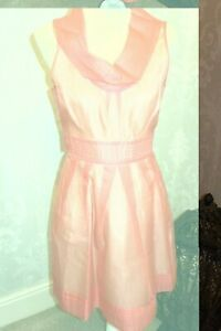 Bargain New Warehouse occasion, Coral lined dress size 10