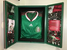 Adidas TechFit Mexico Authentic Player Issue Home Soccer SE Jersey 2010 Size L