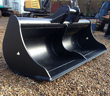 6ft Ditching Digging Grading Bucket, for 10, 13, 14 Ton Tonne Excavator Digger
