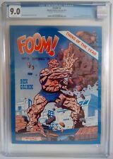Foom # 5 CGC 9.0 Spring 1974 Rich Buckler Joe Sinnott Cover - Thing & Deathlok