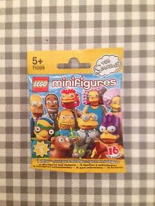 Lego minifigures the simpsons series 2 unopened sealed random mystery blind bag