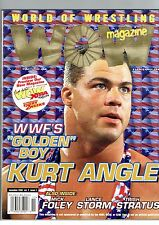 WOW- World of Wrestling Magazine- WWF's Golden Boy Kurt Angle November 2000 W67