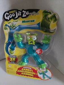 Heroes of Goo Jit Zu Mantor Action Figure [Mantis] Mantor Free Fast Shipping...