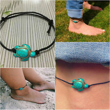 21 cm Woman String Turtle Shape Anklet Foot Chain Bracelet Jewelry Beach Summer
