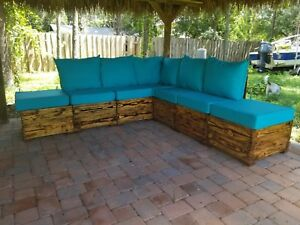 Custom made  Heavy Duty solid wood Outdoor Furniture Set