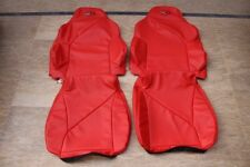 1994-1996 C4 Corvette Genuine Leather Red Sport Seat Covers