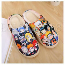 Plush Home Slippers Indoor Shoes Soft Non-slip Cosplay Warm Winter Anime NARUTO