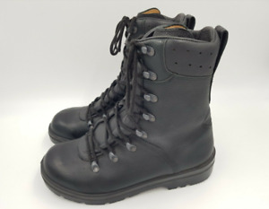 German Army Para Boots Genuine Military Surplus Black Leather Super and Grade 1