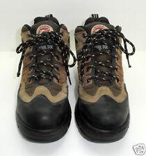 Brahma Cypress Brown Suede Leather Steel Toe Work Boots - Men's Size 7