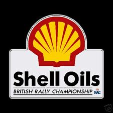Shell Oils British Rally Championship Stickers