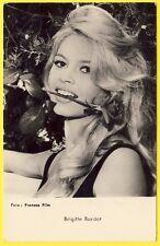 """cpa RARE PORTRAIT STAR PEOPLE """"Brigitte BARDOT"""" BB Ufa Foto Francos PUB KORÈS"""