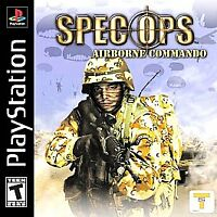 Spec Ops: Airborne Commando, Good PlayStation,Sony PlayStation Video Games