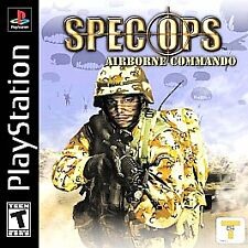 Spec Ops: Airborne Commando  (Sony PlayStation 1, 2002) Video Game FREE Ship