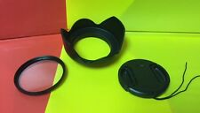 Objektiv Blume Haube + Filter UV + Cap aptto Kamera Sony VX2000 VX21000 VCL-DH1758 58mm