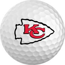 Kansas City Chiefs Titleist ProV1 Refinished NFL Golf Balls 12 Pack