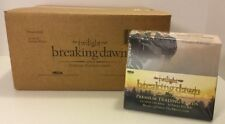 TWILIGHT BREAKING DAWN TRADING CARD SEALED CASE NECA - 10 BOXES / 24 PACKS EACH