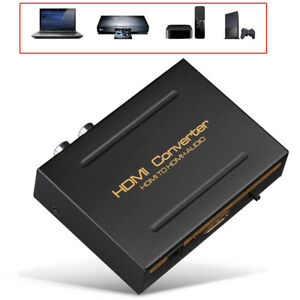 US One HD Input to One HD+Audio (5.1CH SPDIF+L/R) Output Extractor Converter