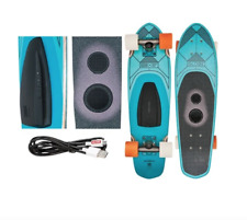 "Globe Blazer Gsb Speaker Board Teal Cruiser Complete Skateboard 7.25"" x 26"" New"