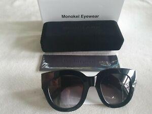 Monokel black frame sunglasses. Cleo. Black. New. STHLM.
