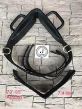 Performers 1st Choice Vaulting Surcingle- Horse-Black Leather