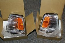 Chrome Parking Light Pair for 89 90 91 Toyota Pickup 2WD