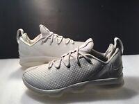 Men's Nike LeBron XlV Athletic Shoes Sz 14M Light Bone Ivory  #878636-004