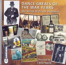 DANCE GREATS OF THE WAR YEARS The String of Pearls Orchestra CD