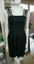 Natasha Gan dress.Sz8.Stretchy little black dress.Aus dsgn x md.Excellent condit