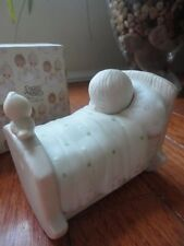 Precious Moments Figurine Blessed Are the Pure In Heart 1979 E-3104 Sleeping MIB