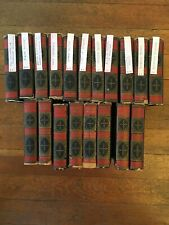THE WORKS OF CHARLES DICKENS CLEARTYPE EDITION SET OF 19 BOOKS INC 1868