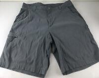 Columbia Shorts Mens Sz 36 Omni Shield Advanced Repelence Gray
