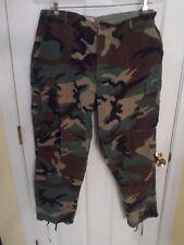 Vintage Cabelas Camo Hunting Pants -- Adjustable Waist  39 x 30 -- Sydney NE