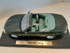 1:18 Maisto 1996 Jaguar XK8 Dark Green Diecast New Mint In Box Shelf O2
