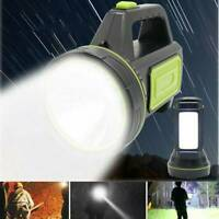 Rechargeable Camping LED Flashlight Super Bright 135000LM Torch Lamp Spotlight