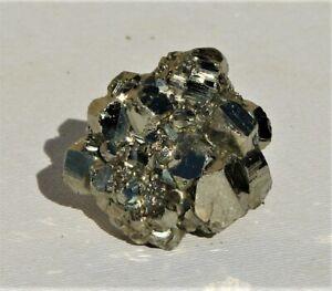 Natural Pyrite Cube Cluster From Peru (P103)