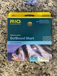 Rio Products WF10F Tropical OutBound Short Saltwater - VWG 295610