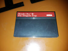 ## SEGA Master System - Wonder Boy 3: The Dragon´s Trap (nur Modul, ohne OVP) ##