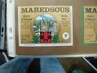 VINTAGE BELGIUM BEER LABEL. MAREDSOUS BREWERY - 9o 33CL #2